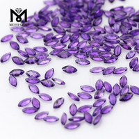 Fancy Shape Natural Amethyst Quartz Stones For Jewelry Making