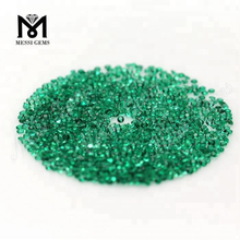1.25mm small lab created gemstones emerald price per carat for sale