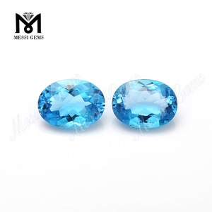 Radiation Blue Color Natural Topaz loose gems stones
