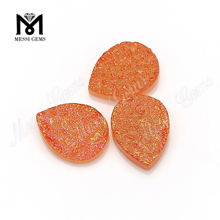 orange color agate gemstones druzy gems buyer in USA