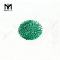 Natural Small Size Emrald Gemstones Round Shape 1.25mm Emerald Stone Price