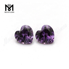 heart cut 7x7mm #46 synthetic alexandrite stones price