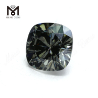 DEF Wholesale moissanite diamond grey Cushion Cut Moissanite Stone