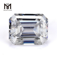 Factory Price moissanite diamond Wholesale 8x6mm DEF White Emerald Cut Moissanites