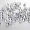 Synthetic lab diamond good polished white colorless 1-3mm HPHT diamond