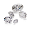 Wholesale white loose gemstone 1ct price per carat Oval cut moissanite