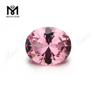 Heat resistant nanosital synthetic pink nano stone for jewelry