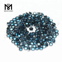 Loose Round 3.0mm Natural London Blue Topaz Stone