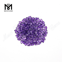 2.5*5mm cheap marquise cut small natural amethyst stones price