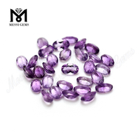 Wholesale oval cut gemstone natural amethyst gemstone price