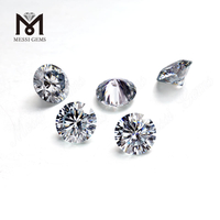 0.6Carat DEF White VVS moissanite diamond Synthetic 5.5mm Round Moissanites Price