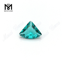 11*14 paraiba machine cut synthetic glass loose gems