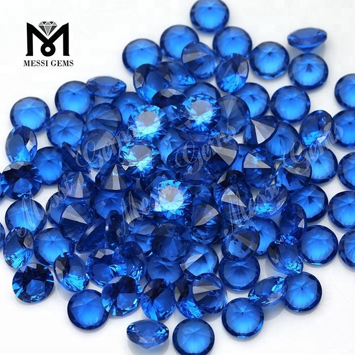 Synthetic gemstone blue 10.0mm 119# spinel stones