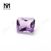 Eye Clean Quality Octagon Shape Natural Amethyst Stone Per Carat Price