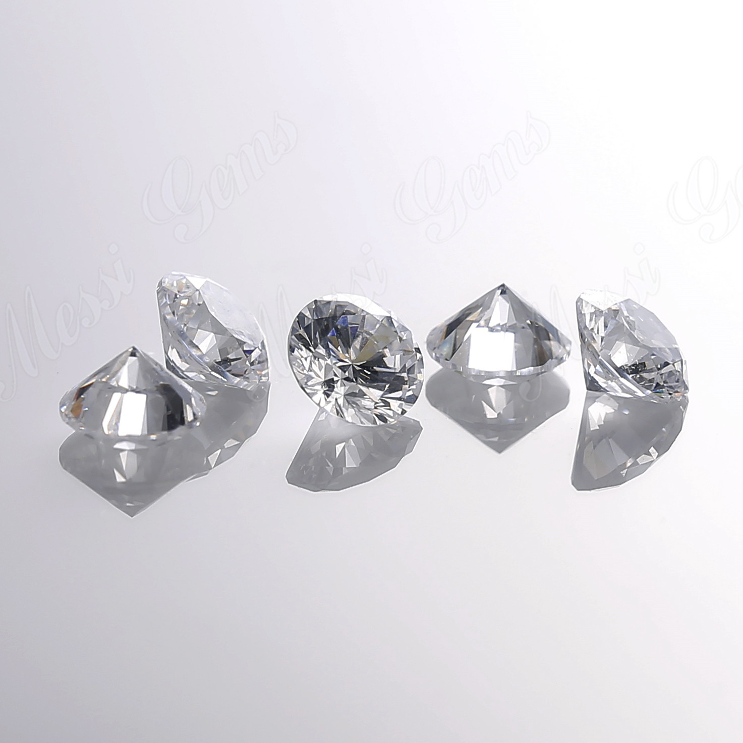 0.12 Carat Brilliant Cut DEF VVS White HTHP diamond Synthetic lab created diamond stone