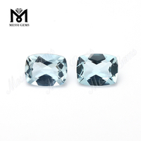 Clean Quality Elongated Cushion Natural Aquamarine Stones