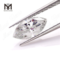 Wholesale price machine cut def color marquise shape loose moissanite diamond