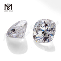 Factory loose cushion cut 1 carat wholesale moissanite diamond price