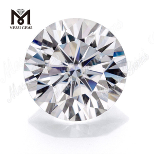 Synthetic moissanite diamond Price 3.0mm Round DEF Color Loose White Moissanite China