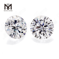 Loose moissanite diamond Brilliant Cut DEF Clear WHITE VVS Synthetic Moissanite