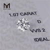 IDEAL Synthetic 1.07ct VVS per carat price large size lab grwon D hpht cvd diamond