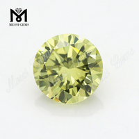 wholesale round all sizes loose peridot zirconia stones 1 buyer