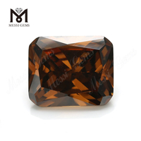 Loose coffee octagon 10*12mm CZ Cubic Zirconia Stones Prices