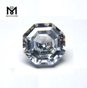 Wholesale Custom Fancy Shape Equilateral 14x14 White Zircon Price