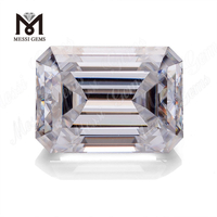 Emerald cut DEF moissanites china manufacturers hot sale in usa