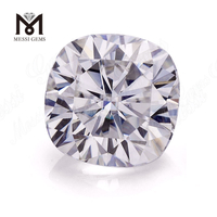 2.5CT Cushion DEF White Color Moissanites Stone Loose Moissanite