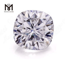 Factory price per carat 9*9mm color play or fire Cushion cut Moissanite