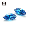 Loose cz 7x14mm marquise cut sapphire cubic zirconia stone