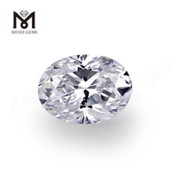 OVAL D VS2 excellent cut 0.415carat synthetic diamond price per carat