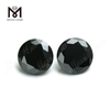 Factory Price High Quality balck Cubic Zirconia Stone Round Cut CZ Loose Gemstone
