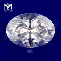 Loose wholesale def colorless vvs oval 5.5x8mm 1carat price moissanite
