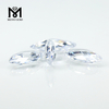 Jewellery making wholesale white color marquise cz gems